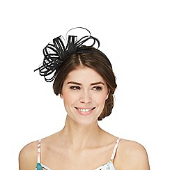 J by Jasper Conran - Black bow headband fascinator