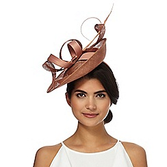 J by Jasper Conran - Pink mixed quill fascinator