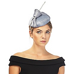 J by Jasper Conran - Blue satin knot fascinator