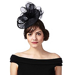 J by Jasper Conran - Black bow fascinator