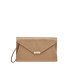 J by Jasper Conran - Gold metallic envelope clutch