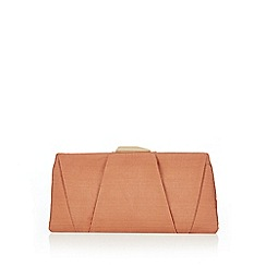 J by Jasper Conran - Natural layered clutch bag