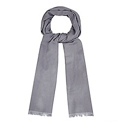 J by Jasper Conran - Grey silk blend pashminetta