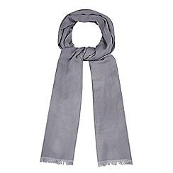 J by Jasper Conran - Grey silk blend pashminetta