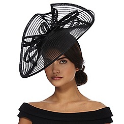 J by Jasper Conran - Black wave fascinator