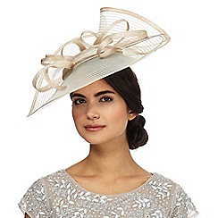 J by Jasper Conran - Beige wave fascinator