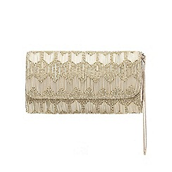 Debut - Gold beaded purse