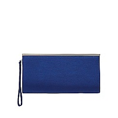 Debut - Dark blue framed clutch bag