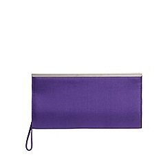 Debut - Purple framed clutch bag