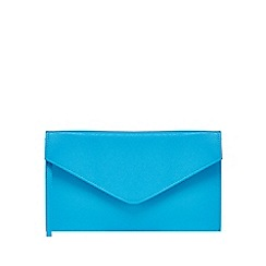 Debut - Blue envelope clutch