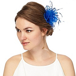 Debut - Blue organza hair clip