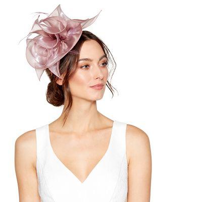 Debut Pink Large Organza Flower Headband