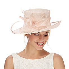 Debut - Light pink swirl fascinator