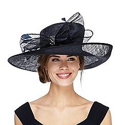 Debut - Navy diamante hat