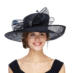 Debut Navy (Blue) Diamante Hat