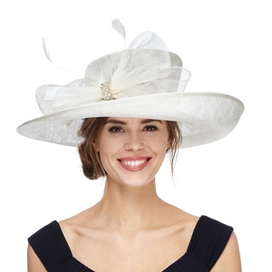 Debut Natural diamante hat
