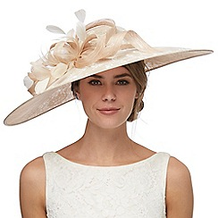 Debut - Natural lace flower fascinator