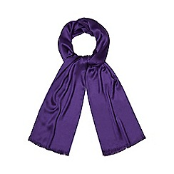 Debut - Bright purple pashmina scarf