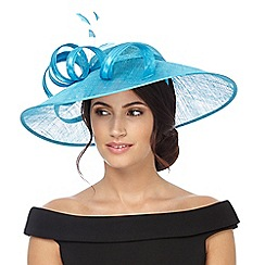 Debut - Turquoise swirl fascinator