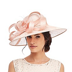 Debut - Pink feather quill hat