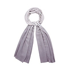 Debut - Grey glittery ombre scarf