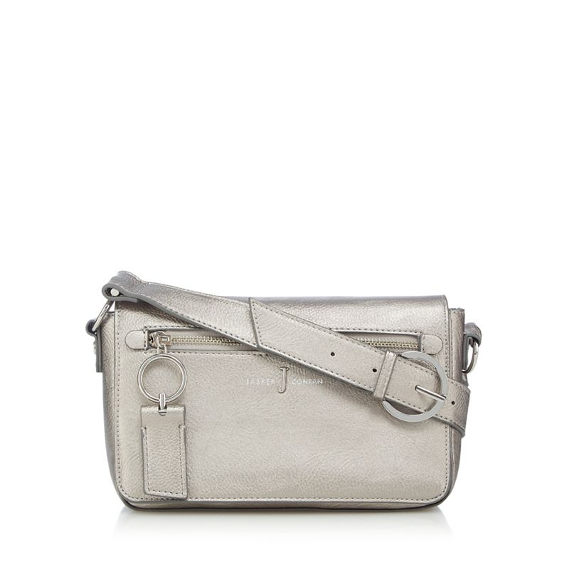 J by Jasper Conran Metallic cross body bag
