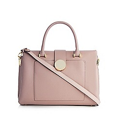 J by Jasper Conran - Light pink large grab bag