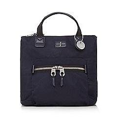 J by Jasper Conran - Navy zip top backpack
