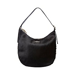 J by Jasper Conran - Black circle stud shoulder bag