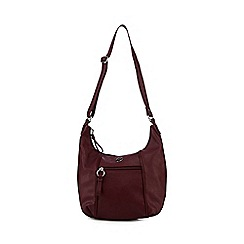 The Collection - Dark red shoulder bag