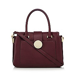 J by Jasper Conran - Wine red small grab bag