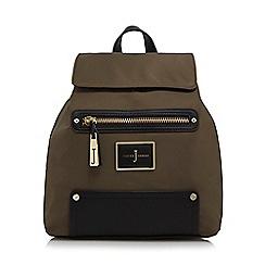 J by Jasper Conran - Khaki backpack