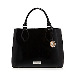 Principles by Ben de Lisi - Black patent large grab bag