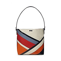 Principles by Ben de Lisi - Multi-coloured panelled bucket bag