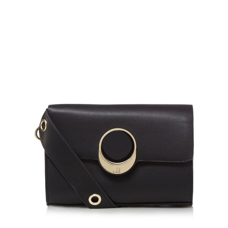 Star by Julien Macdonald - Black Circle Detail Cross Body
