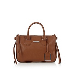 J by Jasper Conran - Designer tan zip around grab bag