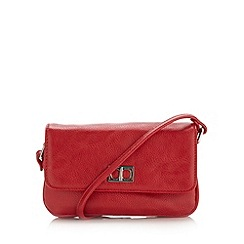 The Collection - Red small rectangular cross body bag