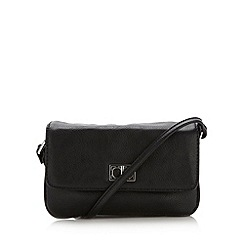 The Collection - Black small rectangular cross body bag