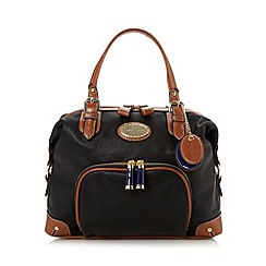 J by Jasper Conran - Designer black buckle grab bag