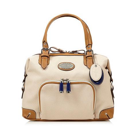 J by Jasper Conran - Designer cream curve top grab bag