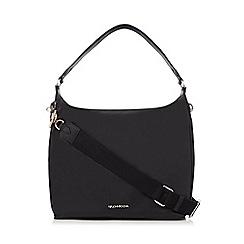 RJR.John Rocha - Black zip detail shoulder bag