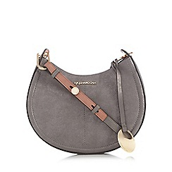 RJR.John Rocha - Metallic half moon cross body bag