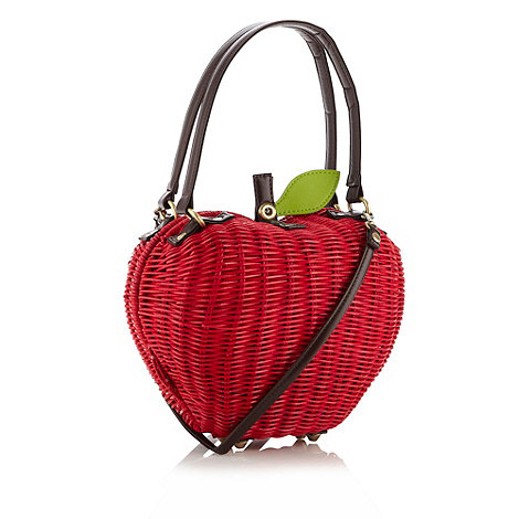Ollie & Nic - Red woven apple grab bag