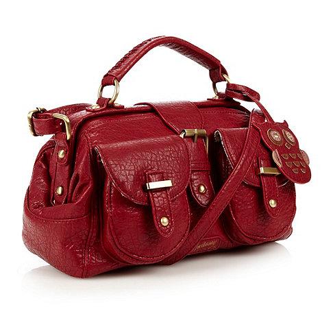Mantaray - Dark red owl charm grab bag