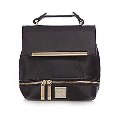 Faith - Black detachable strap backpack