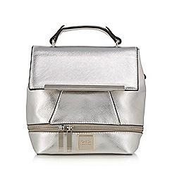 Faith - Metallic detachable strap backpack