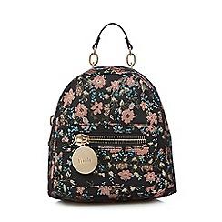 Faith - Multi-coloured floral brocade backpack