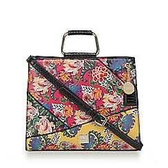 Faith - Multi-coloured floral patchwork grab bag