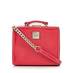 Faith - Pink patent cross body bag