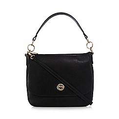 The Collection - Black circle shoulder bag